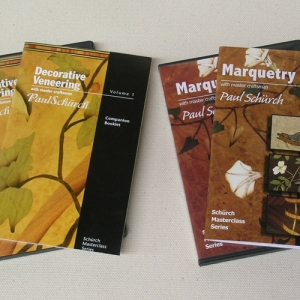 Decorative Veneering & Marquetry DVDs