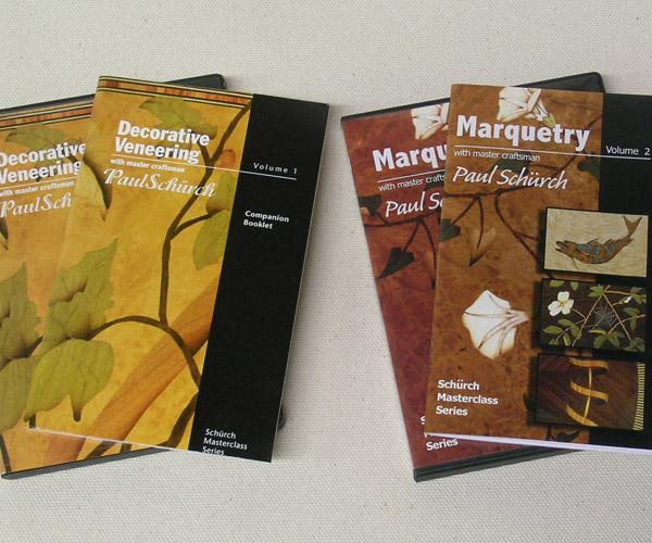 Decorative Veneering & Marquetry DVDs