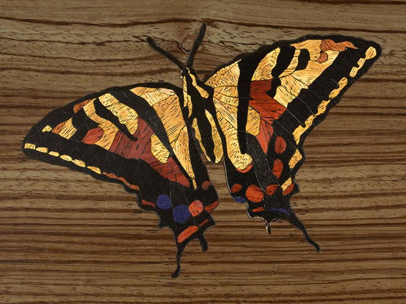 Veneer Inlay Butterfly