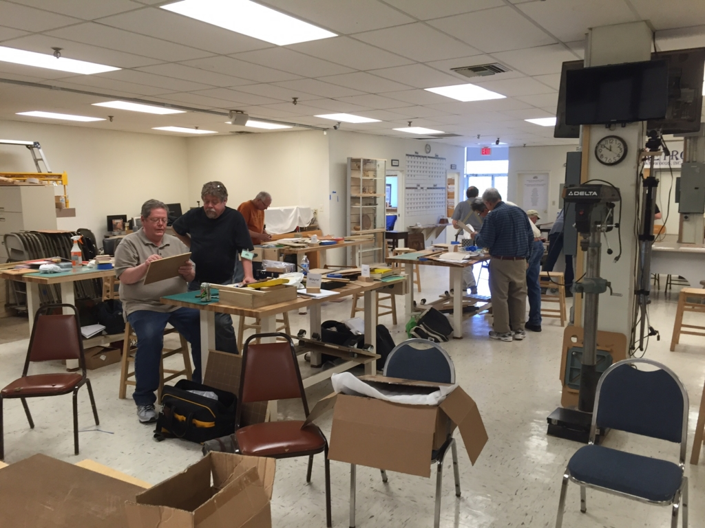 Kansas City Woodworkers Guild Class