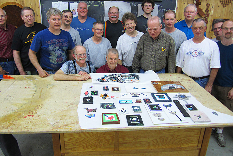 Stone Marquetry Class