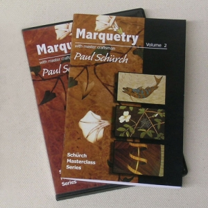 Marquetry Class Video and Booklet