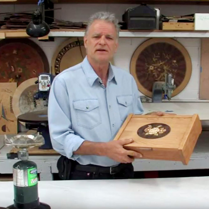 Marquetry 101 Educational Hand Skills Video