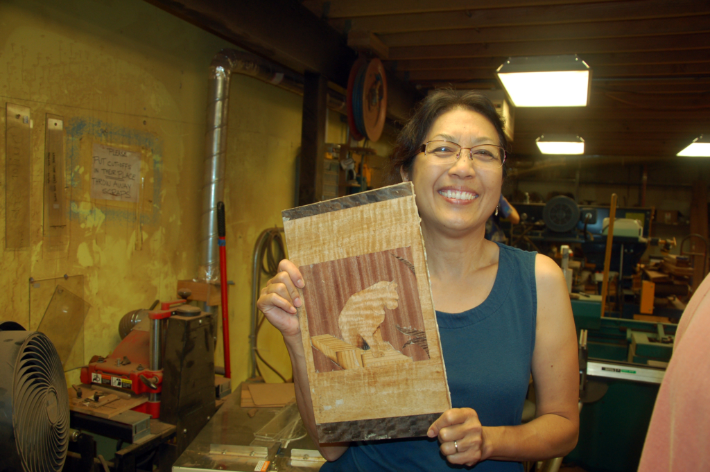 Hawaii marquetry class - Schu00fcrch Woodwork