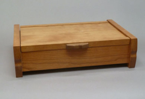 "Online Hand-skills class called ""Making a Jewelry Box"""