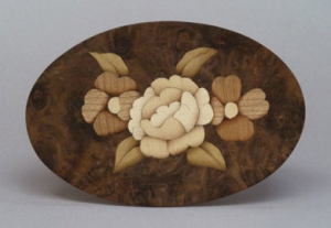 "Online Hand-skills class called ""Making a Marquetry Medallion"""